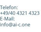 Aicone Medical Contact