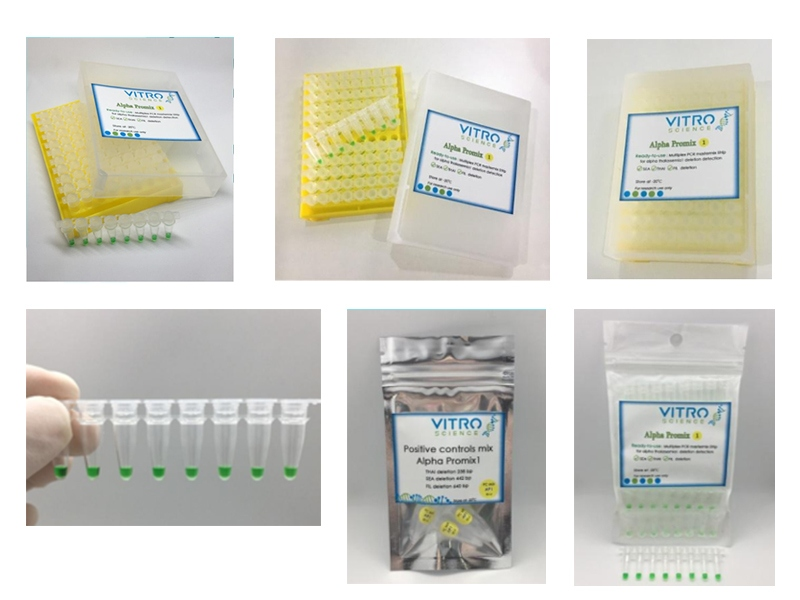 Thalassemia AlphaMix Products